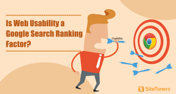 web usability google search ranking