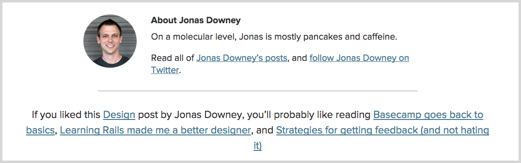 Jonas Downey screenshot