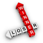 Sales rep winners and losers