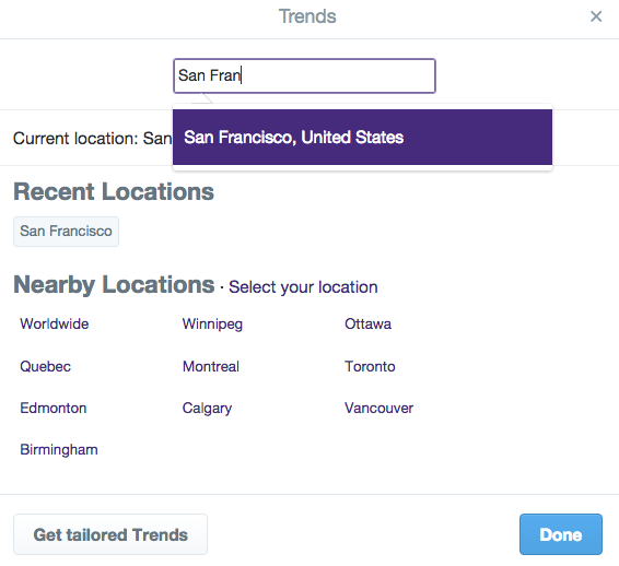 Local Trending Topics Can Be Useful