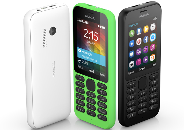 Microsoft Launches Nokia 215, An Entry Level Facebook Messenger Phone image Nokia 215