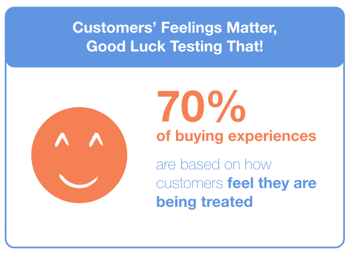 The influence of customers feelings in purchase decision