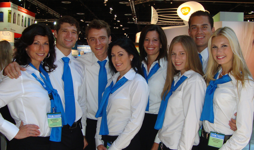 Trade Show Booth Etiquette : Training booth staff for proper etiquette at your next trade show