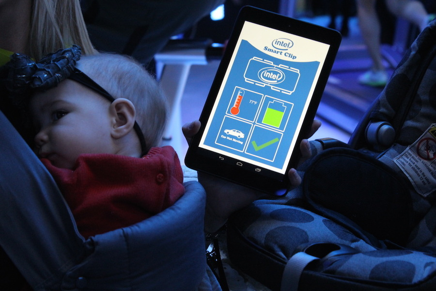 Intel Smart Clip Makes Sure You Never Forget Baby In The Car [CES 2015] image IMG 4274 900x600
