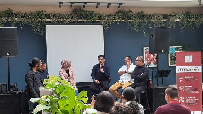 Peresmian Indonesia Next Leaders, Minggu (10/11/2019).