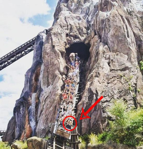 Expedition Everest rollercoaster at Walt Disney World Florida