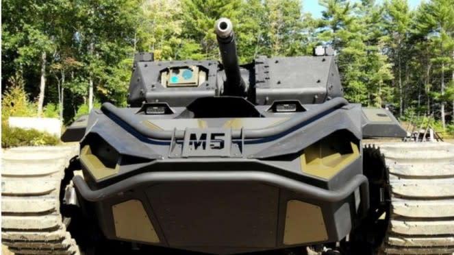 VIVA Militer: Tank M5, Kendaraan Tempur Robotik US Army