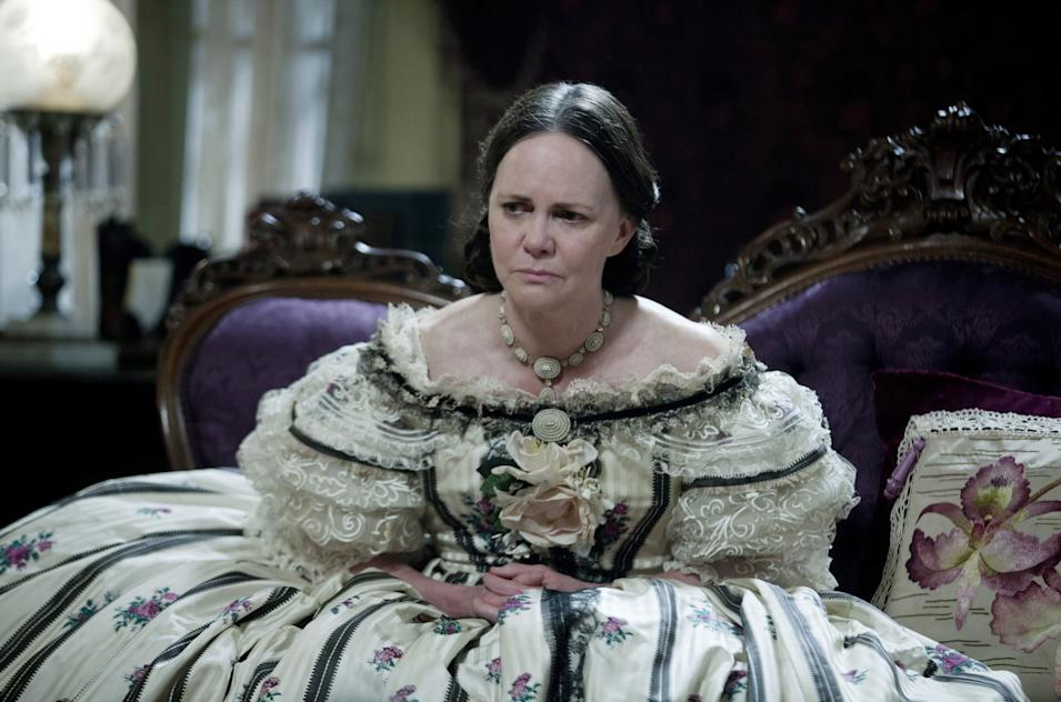 """LINCOLN""..L 000603R..Sally Field stars as First Lady, Mary Todd Lincoln in this scene from director Steven Spielberg's drama ""Lincoln"" from DreamWorks Pictures and Twentieth Century Fox."