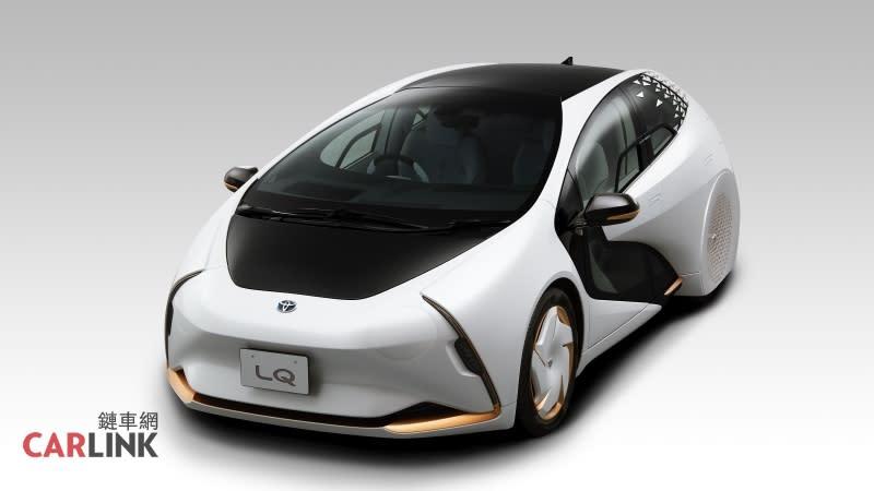 市售電動車起跑,TOYOTA LQ迎接奧運量產準備