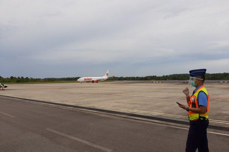 Penumpang Bandara RHF Tanjungpinang meningkat pada Agustus
