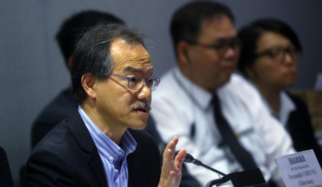 Lawmaker Fernando Cheung. Photo: Edmond So