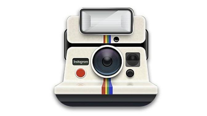 Logo pertama Instagram (Foto: Mashable)