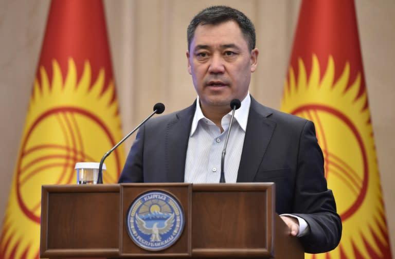 Kyrgyz acting leader says ready to fight crime, corruption in legitimacy bid