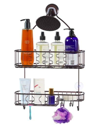 """<p>This <a href=""""https://www.popsugar.com/buy/Simple-Houseware-Hanging-Shower-Head-Caddy-Organizer-580172?p_name=Simple%20Houseware%20Hanging%20Shower%20Head%20Caddy%20Organizer&retailer=amazon.com&pid=580172&price=22&evar1=savvy%3Aus&evar9=46366430&evar98=https%3A%2F%2Fwww.popsugar.com%2Fphoto-gallery%2F46366430%2Fimage%2F46366665%2FShower-Caddy-Right-Your-Shower-Head&list1=shopping%2Camazon%2Corganization%2Cshowers%2Cbathrooms&prop13=api&pdata=1"""" rel=""""nofollow"""" data-shoppable-link=""""1"""" target=""""_blank"""" class=""""ga-track"""" data-ga-category=""""Related"""" data-ga-label=""""https://www.amazon.com/dp/B07MFC5NXZ/ref=sspa_dk_detail_6?psc=1&amp;pd_rd_i=B07MFC5NXZ&amp;pd_rd_w=vO8TW&amp;pf_rd_p=48d372c1-f7e1-4b8b-9d02-4bd86f5158c5&amp;pd_rd_wg=ZdWnq&amp;pf_rd_r=QKJB2DH3GBGQ8C2DH3M6&amp;pd_rd_r=105e386f-0117-4e46-9819-78938a5ca593&amp;spLa=ZW5jcnlwdGVkUXVhbGlmaWVyPUEzSUozU1AxODJSSTU3JmVuY3J5cHRlZElkPUEwMDQzNTI0M0UxM1FSWjFNT0dRWiZlbmNyeXB0ZWRBZElkPUEwOTM0NzE5M01MSzJGOFpUNFVBUyZ3aWRnZXROYW1lPXNwX2RldGFpbCZhY3Rpb249Y2xpY2tSZWRpcmVjdCZkb05vdExvZ0NsaWNrPXRydWU="""" data-ga-action=""""In-Line Links"""">Simple Houseware Hanging Shower Head Caddy Organizer</a> ($22) won't take up too much space.</p>"""