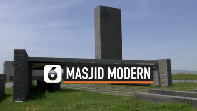 VIDEO: Megahnya Masjid Ultra-Modern Sancaklar di Turki