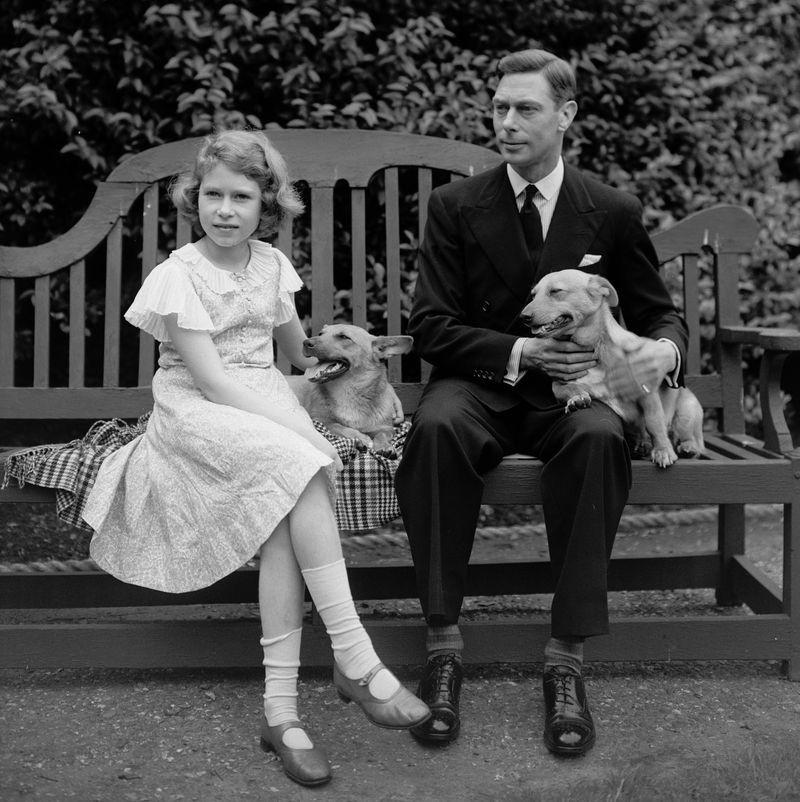 """<p>According to the Royal Collection Trust, the Queen was <a href=""""https://www.rct.uk/collection/themes/trails/royal-pets/princesses-elizabeth-and-margaret-with-dookie"""" target=""""_blank"""">first introduced to corgis</a> when she was a child. Her father brought home Dookie and Jane in 1933 for 7-year-old Elizabeth and her sister Margaret. Almost instantly, a decades-long love story with the breed was born.</p>"""