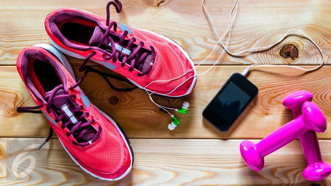 Ilustrasi Foto Sepatu Olahraga (iStockphoto)
