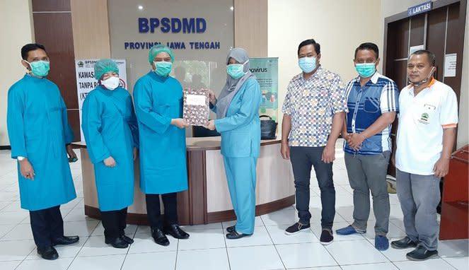 Serah Terima Tugas Posko Pemulangan PMI di Kantor BPSDM