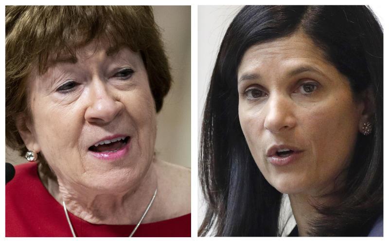 Election 2020 Senate Maine