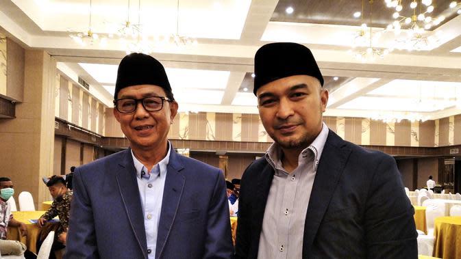 David Chalik maju sebagai calon wakil wali kota Bukittinggi dalam Pilkada Sumatera Barat. (Liputan6.com/ Novia Harlina).