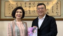 白嘉莉現身新竹市議會 議員粉絲爭睹巨星風采