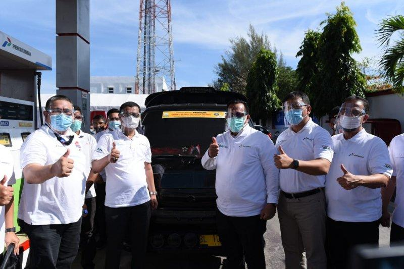 Agar tepat sasaran, Pemerintah Aceh tempel stiker BBM bersubsidi