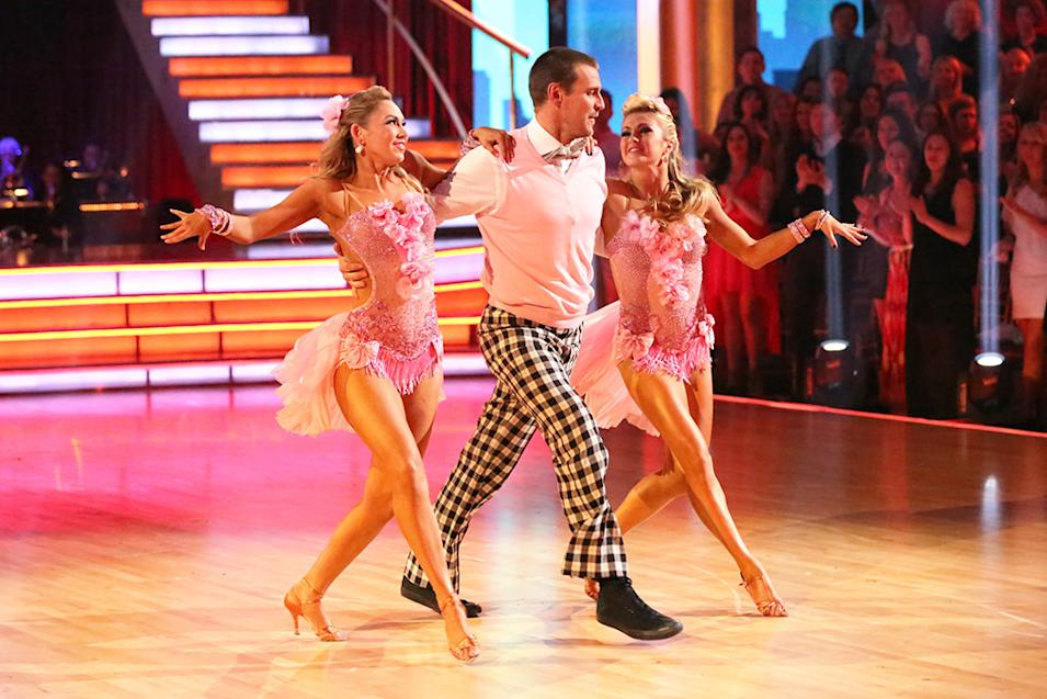 Kym Johnson, Ingo Rademacher and Lindsay Arnold (5/6/13)