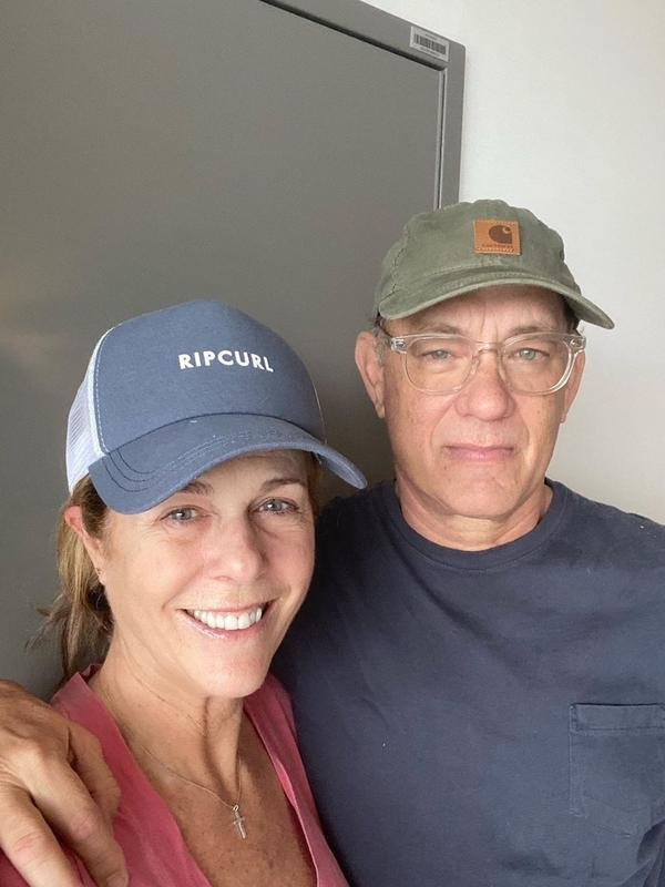 Tom Hanks dan Rita Wilson(Instagram/tomhanks)