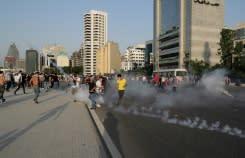 Lusinan terluka akibat bentrokan ketika ratusan berunjuk rasa di Beirut