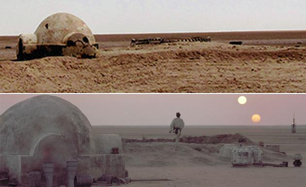 The Remains of the Original 'Star Wars' Set