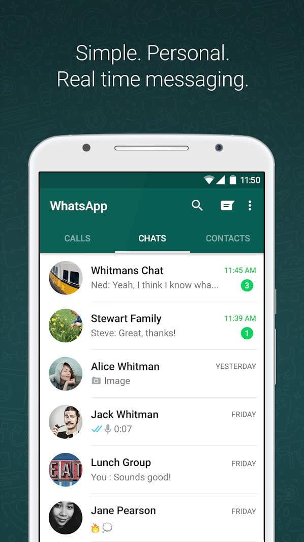 best video chat apps whatsapp 2