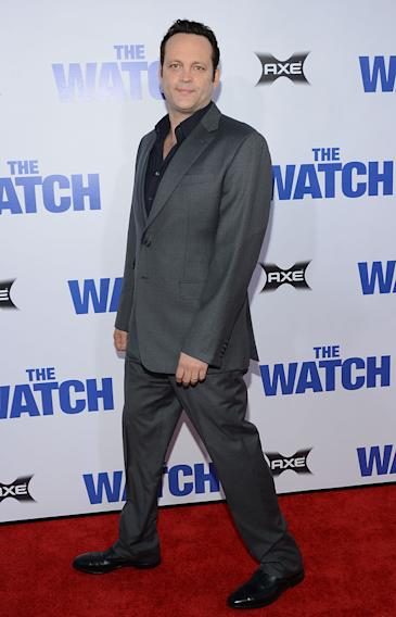 The Watch LA Premiere, Vince Vaughn