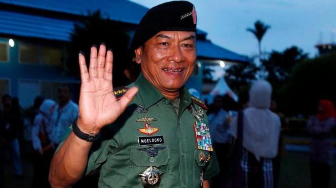 Mantan Panglima TNI, Jenderal (Purn) Moeldoko.