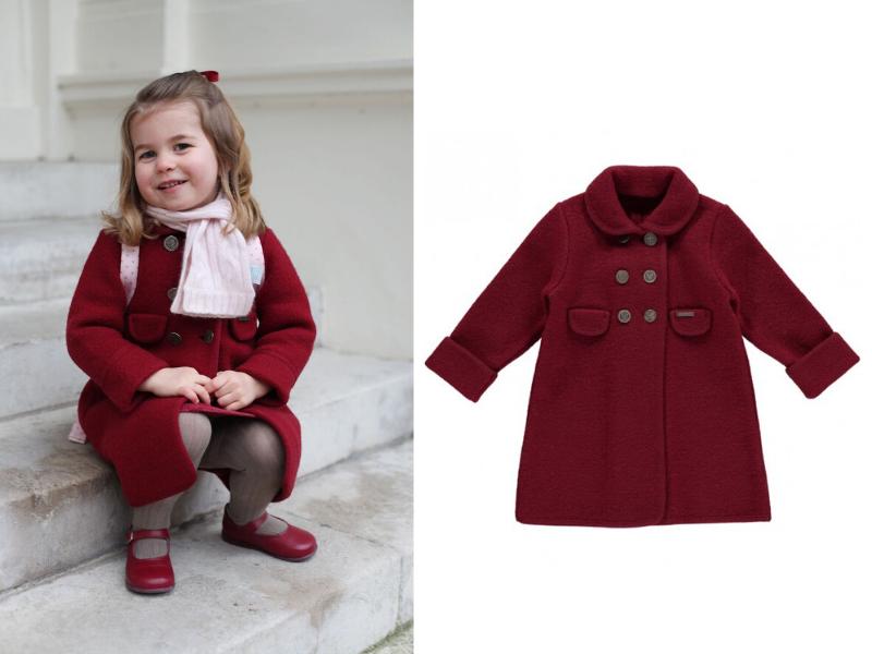 Images courtesy of Duchess of Cambridge, Amaia Kids.