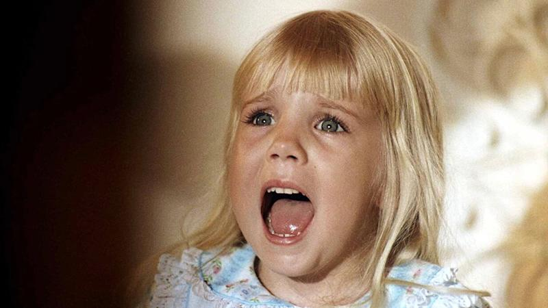 Heather O' Rourke from Poltergeist, on Netflix