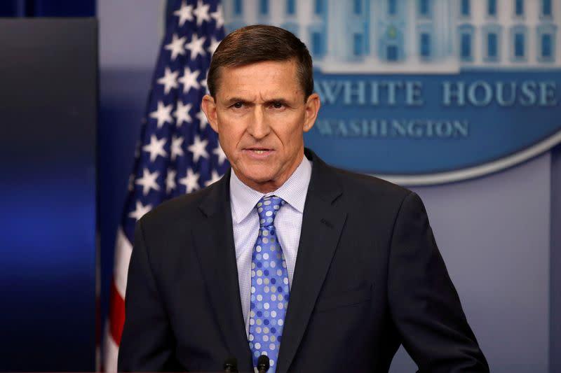 U.S. court denies ex-Trump adviser Flynn's bid to immediately halt criminal case