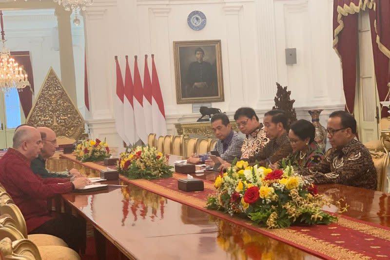 Mendag AS temui Presiden Jokowi bahas keringanan bea masuk GSP