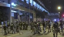 警方作供指去年11月3日晚曾進尚德停車場並分兩小隊