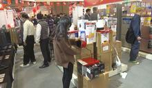 寒流襲電暖器熱賣 業者:春天前都缺貨