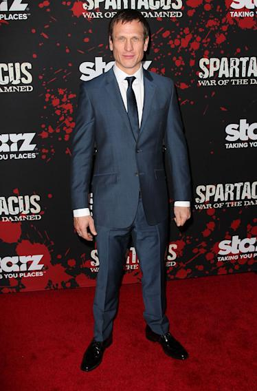 "Premiere Of Starz's ""Spartacus: War Of The Damned"" - Arrivals: Simon Merrells"