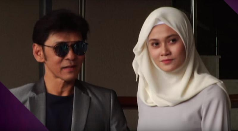 Jamal and Zai welcomed their first child together, Nur Azura Yamani, to their family in October last year. — Screen capture via Youtube/Astro Awani