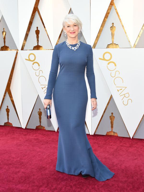 Aktris senior Helen Mirren. (VALERIE MACON / AFP)