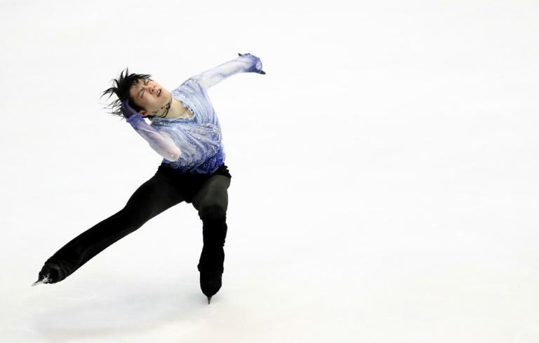 The Japanese figure skating star smashed an overall score of 305.05 points at the men's competition