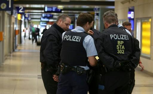 Cologne's central railway station was temporarily closed off during the incident