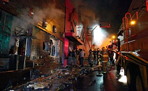 Hundreds Die in Brazilian Nightclub Fire