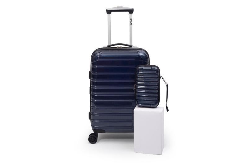 "iFLY Hard Sided Luggage Fibertech 20"" & Travel Case. (Photo: Walmart)"