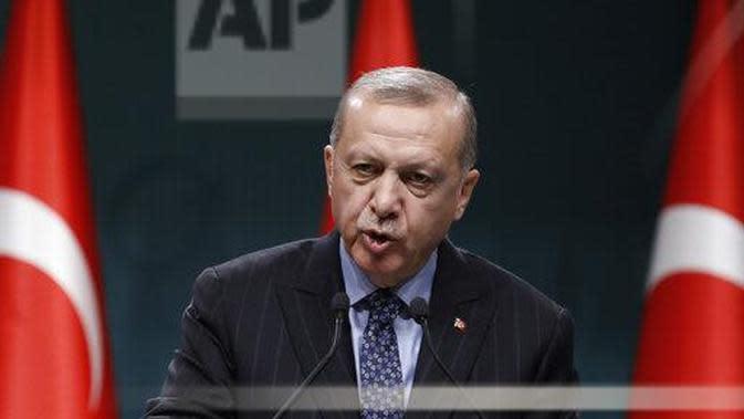 Presiden Turki, Recep Tayyip Erdogan. (Source: AP Photo/Burhan Ozbilici)