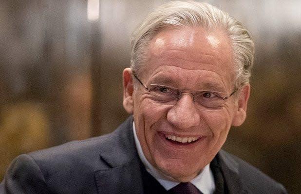 Trump Grants Interview to 'Very Good Writer' Bob Woodward Despite Calling Him a 'Dem Operative' Before