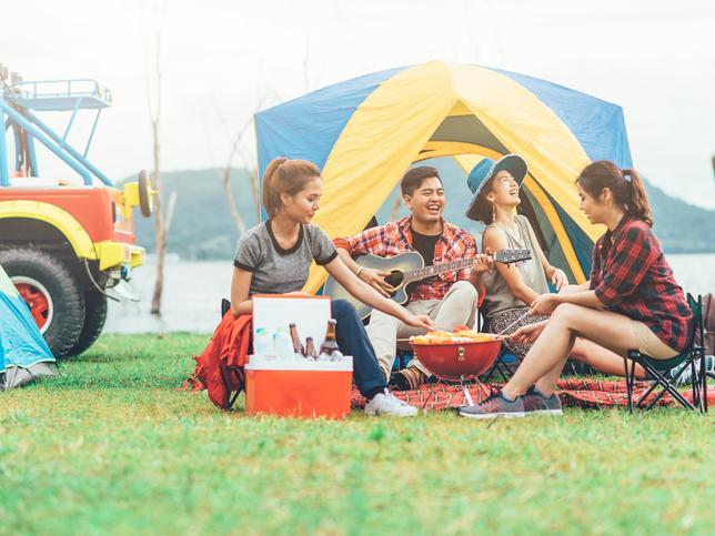 成人愛露營、戶外活動,應補打疫苗!