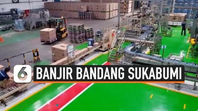 VIDEO: Pasca Banjir Bandang Pabrik Air Mineral Kembali Beroperasi